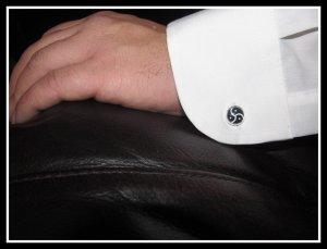 BDSM cufflinks