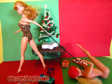 kinky bdsm barbie christmas